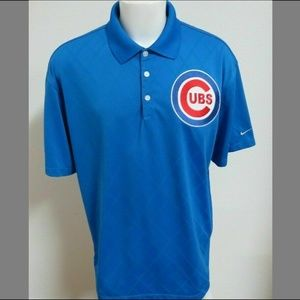 2XL Blue Nike Dri-Fit Mens Poly #D88 Golf Polo